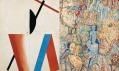 Výstava Monet—Warhol v Národní galerii v Praze: Nikolaj Suetin a Pavel Filonov