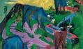 Výstava Monet—Warhol v Národní galerii v Praze: Ernst Ludwig Kirchner