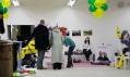 Záběry z první prodejní akce Design mezi banány