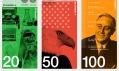 Vítězný návrh na nové dolarové bankovky od Dowling Duncan