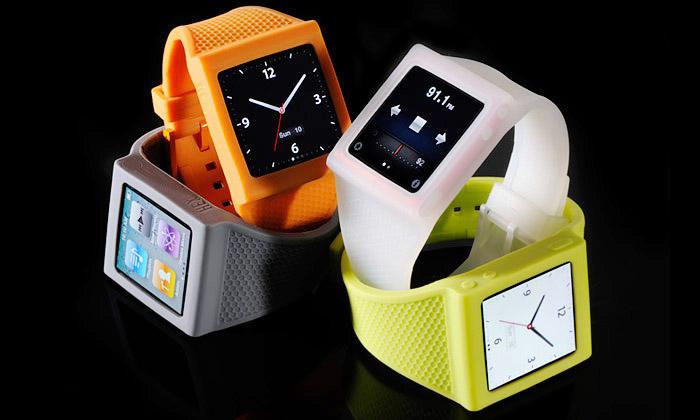 Pásek naruku Hex dělá ziPodu nano super hodinky