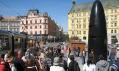 Nový hodinový stroj v Brně na náměstí Svobody