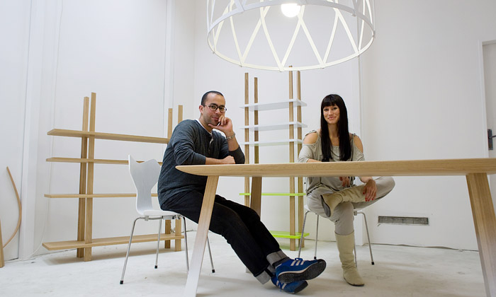 Koldová aYeffet navrhli kolekci nábytku Connection