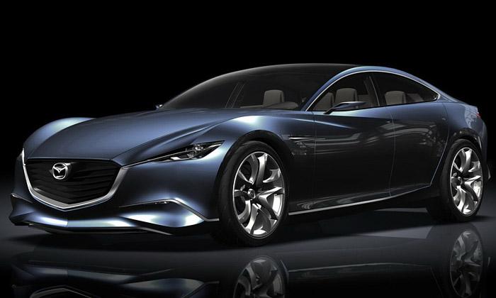 Mazda Shinari jevyostřený japonský prémiový vůz