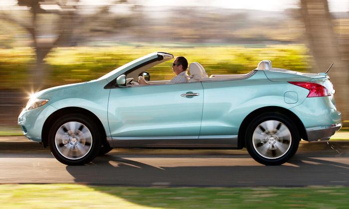 Nissan Murano Cross Cabriolet letním dobrodruhem