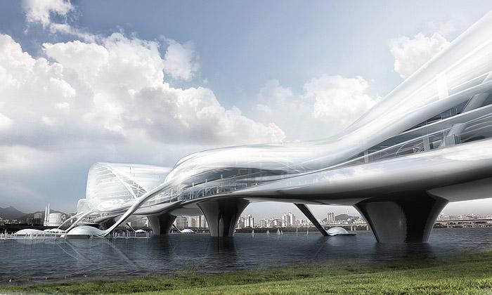 Soul postaví vícepatrový futuristický most spřístavy