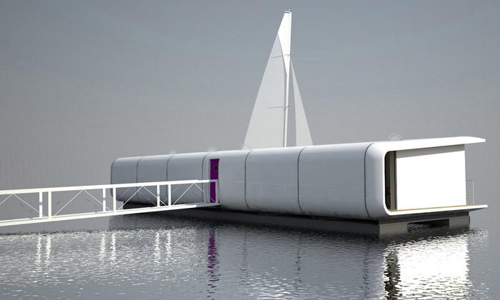 Vltavu oživí supermoderní pojetí hausbotu Port X
