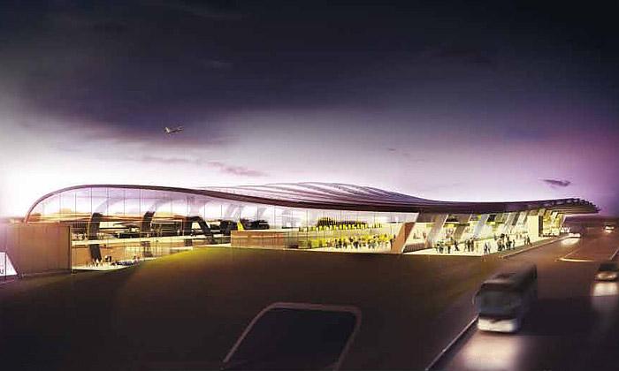 Veřejnost vybírá nový terminál AirBaltic vLotyšsku