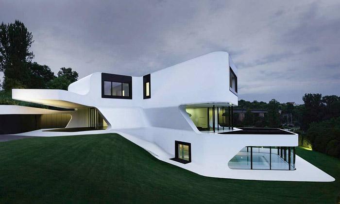 Moderní architektura J. Mayer H. navýstavě vGJF