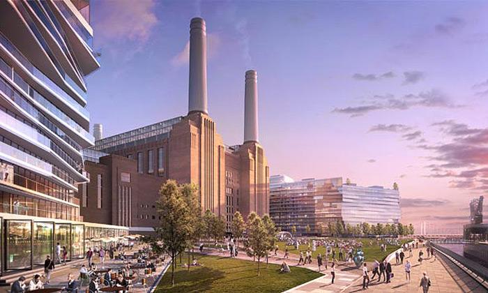 Přestavba legendární elektrárny Battersea startuje