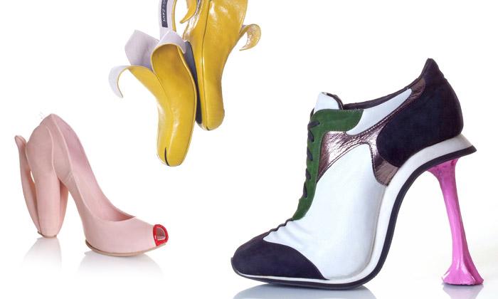 Kobi Levi navrhuje dámské boty klamající vzhledem