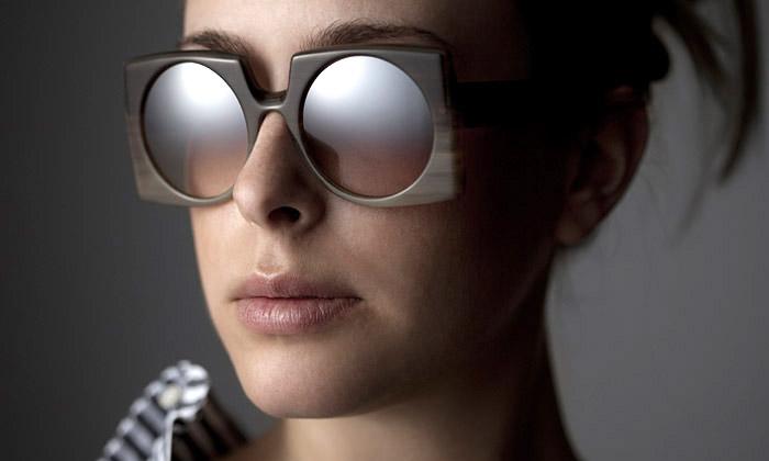 Ralph Vaessen navrhuje exkluzivní brýle zrohoviny