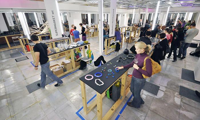 DesignSupermarket počtvrté otevírá splnými regály