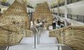 Interiér obchodu Hermès Rive Gauche vhotelu Lutetia odRDAI