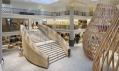 Interiér obchodu Hermès Rive Gauche v hotelu Lutetia od RDAI
