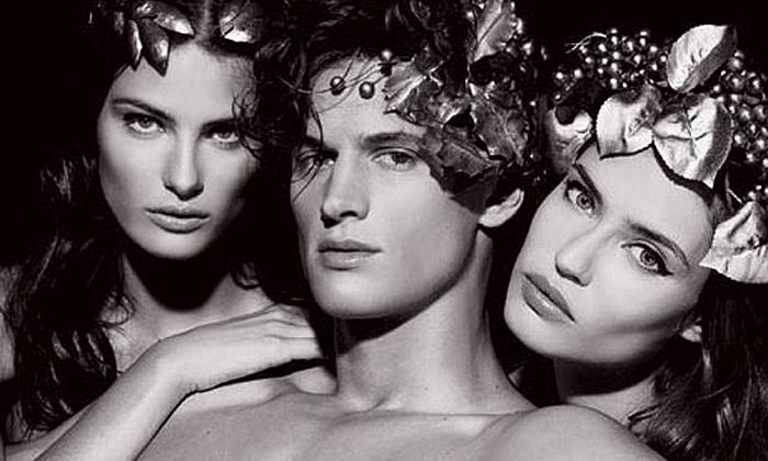 Lagerfeld nafotil kalendář Pirelli natéma Mytologie