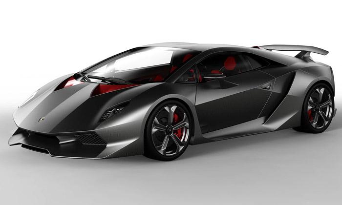 Lamborghini Sesto Elemento stvořen zvláken uhlíku