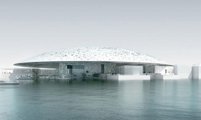 Jean Nouvel staví arabský Louvre kus odAbu Dhabi