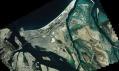 Ostrov Saadiyat a jeho satelitní snímek