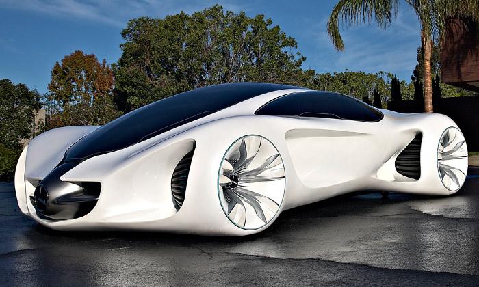 Mercedes-Benz Biome jerevoluční organický vůz
