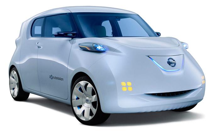 Nissan Townpod jemalý futuristický elektromobil