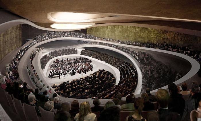 Polsko postaví moderní sídlo pro Symfonii Varšava