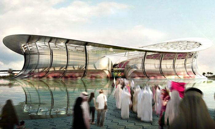 Foster postaví hlavní stadion fotbalu pro Katar 2022