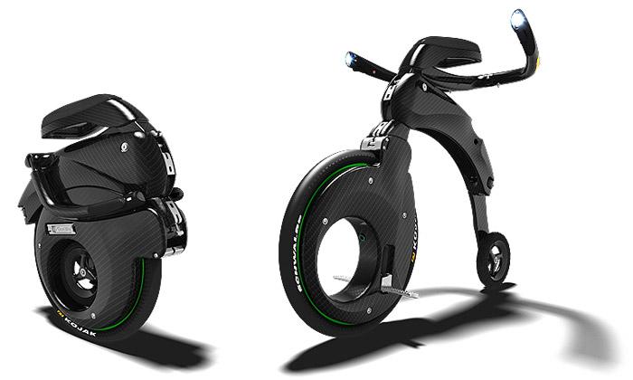 Skládací karbonové vozítko YikeBike jde doprodeje