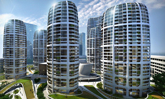 Zaha Hadid postaví vBratislavě bytový komplex