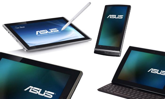 Asus představil čtyři různé tablety Eee pro každého