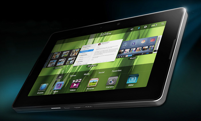 Tablet BlackBerry PlayBook dokončen a míří na trh