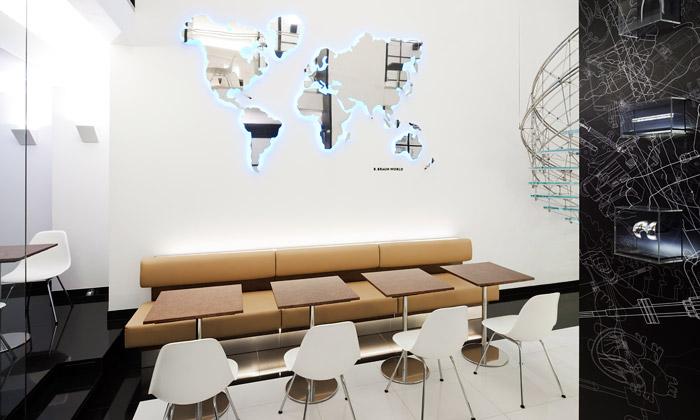 Otevřena designová kavárna B. Braun odEvy Jiřičné