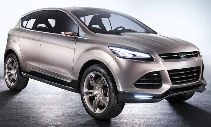Ford Vertrek vylepšuje aposouvá kinetický design