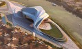 Marocké velké divadlo Rabat Grand Theatre odZaha Hadid Architects