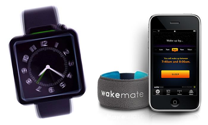 Vibracemi vzbudí hodinky An Alarm nebo WakeMate