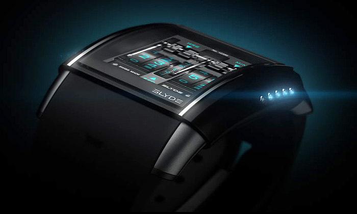 Luxusní hodinky Slyde HD3 mají dotykový displej