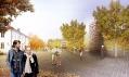 Vítězný projekt přestavby městečka Åndalsnes od studia JAJA
