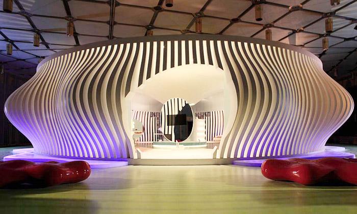 Karim Rashid navrhl futuristický dům Komb House