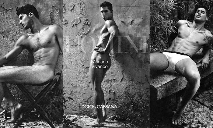 Dolce & Gabbana knihou Uomini oslavují těla mužů
