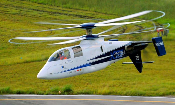 Sikorsky X2 jenově nejrychlejší vrtulník nasvětě