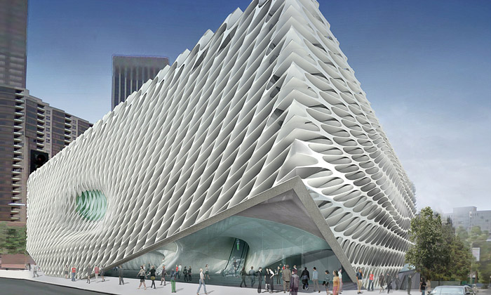 Broad Art Foundation postaví muzeum vLos Angeles