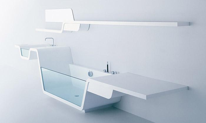 Futuristické koupelny odUsTogether jsou vprodeji