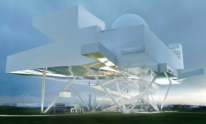 Bělehrad staví Centrum vědy jako vesmírnou stanici