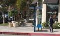 Nové zastávky Big Blue Bus ve městě Santa Monica
