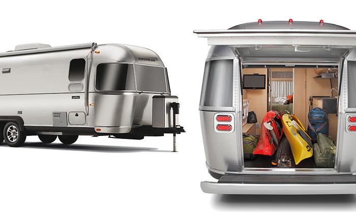 Airstream navrhli sEddie Bauer dobrodružný přívěs