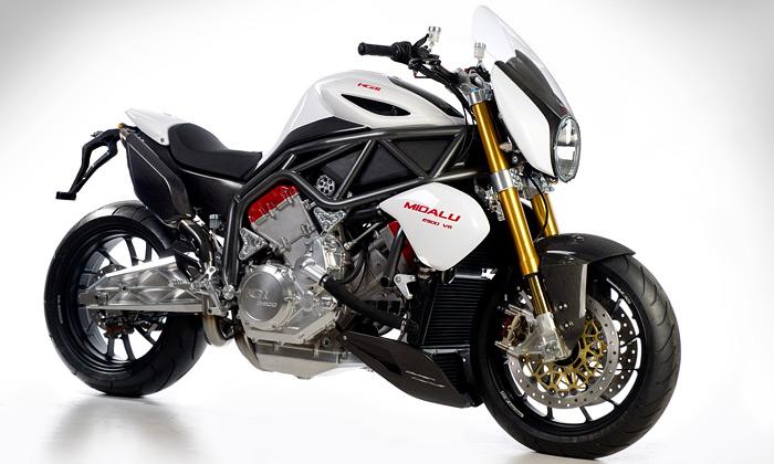 Česká motorka FGR Midalu má největší motor světa