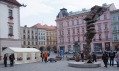 Klíčová socha Revoluce od Jiřího Davida v Olomouci