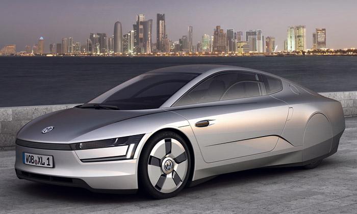 Volkswagen XL1 jepřísně aerodynamický koncept
