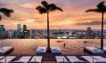 Bazén hotelu Marina Bay Sands