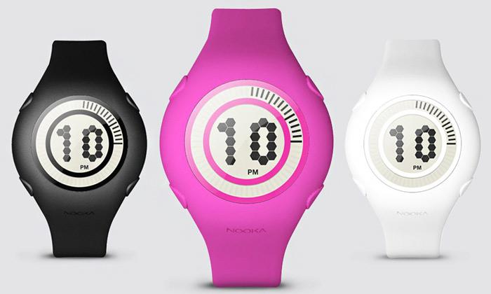 Karim Rashid navrhl pro Nooka digi hodinky Yogurt